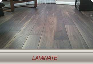 We carry a large selection of laminate flooring