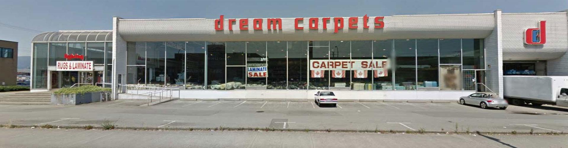 Visit Our Dream Carpets Delta Surrey Showroom